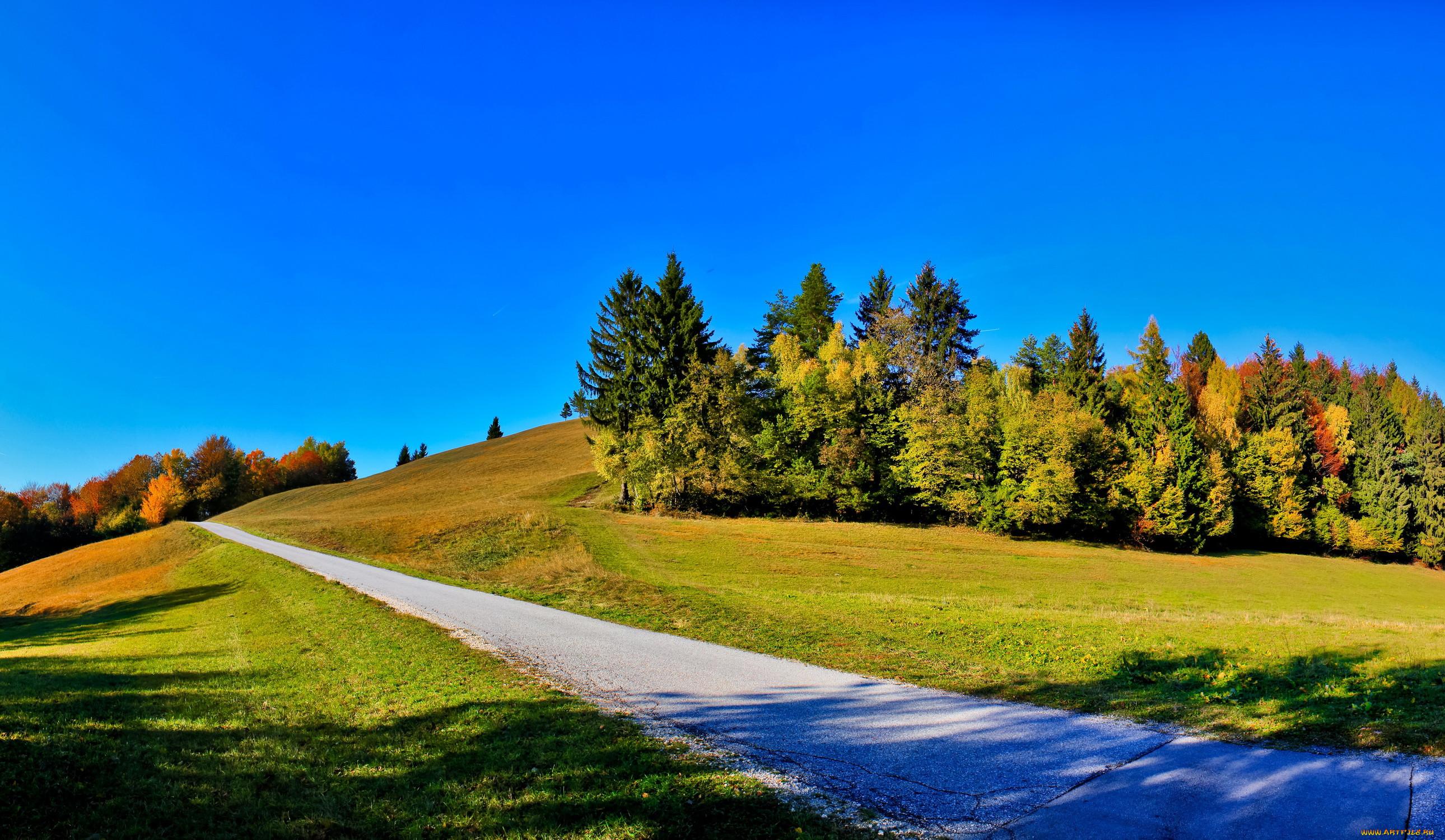 Словения hrastnik природа дороги горы